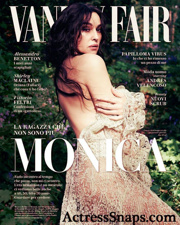 Monica Bellucci - Vanity Fair Magazine Scans - Sexy Actress Pictures | Hot Actress Pictures