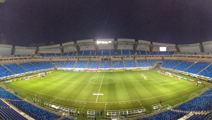 Arena das Dunas - TR (Foto: Alexandre Lago/GloboEsporte.com)