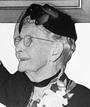 Anna Mary Moses - better known as Grandma Mose...