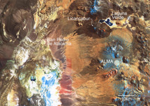 Localización de ALMA. | ESO