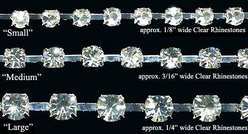 Rhinestone Trim | Crystal Banding, Rhinestone Trims & Appliques
