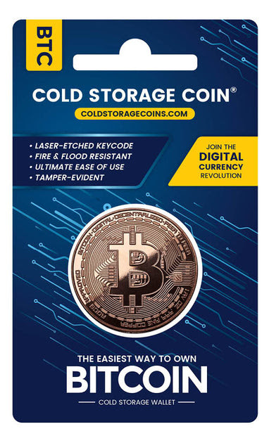 Bitcoin Cold Storage Coin - Cold Storage Coins