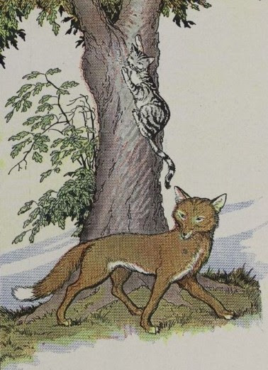 THE CAT AND THE FOX