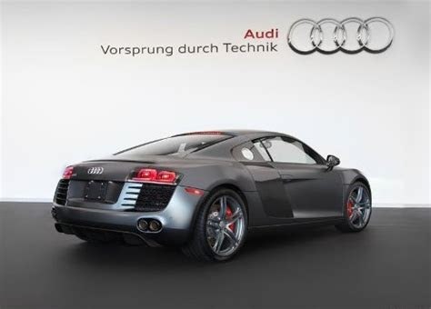 AUDI R8 EXCLUSIVE SELECTION MATT GRAY www.oopscars.com   OopsCars