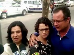 Parentes acompanharam o julgamento em São Roque (Foto: Emilio Botta/G1)