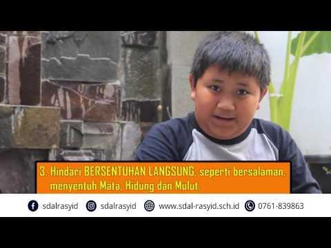 Kampanye Pencegahan penularan COVID 19 oleh Erlangga dan Prasya