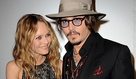 Depp y Paradis cuando estaban felizmente casados.| Gtres