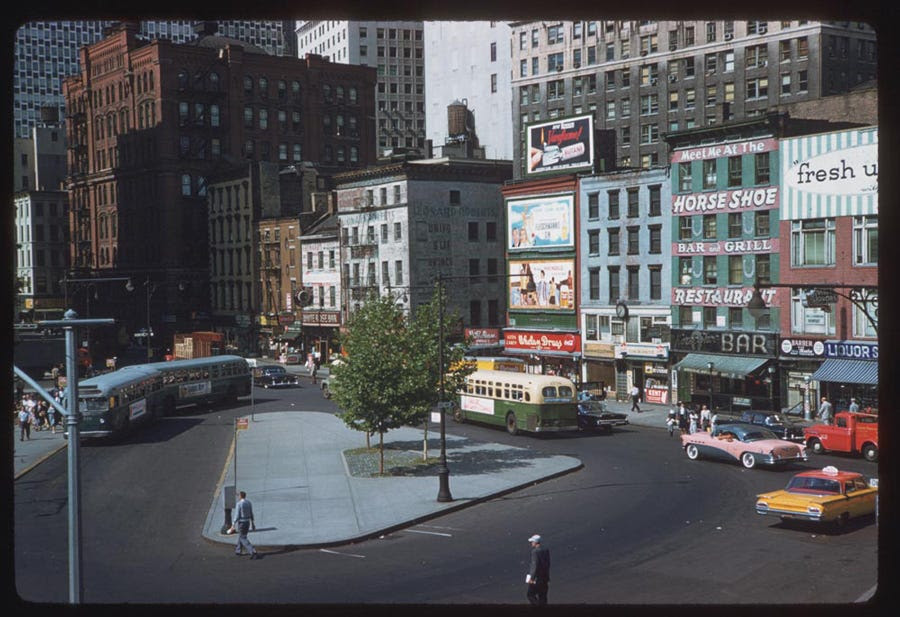 Peter Minuit Plaza, Lower Manhattan (1960)