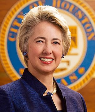 Image result for Annise parker re elected as Houston mayor 2013