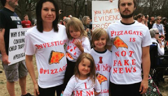 people traveled from all over the us to protest for a pedogate investigation