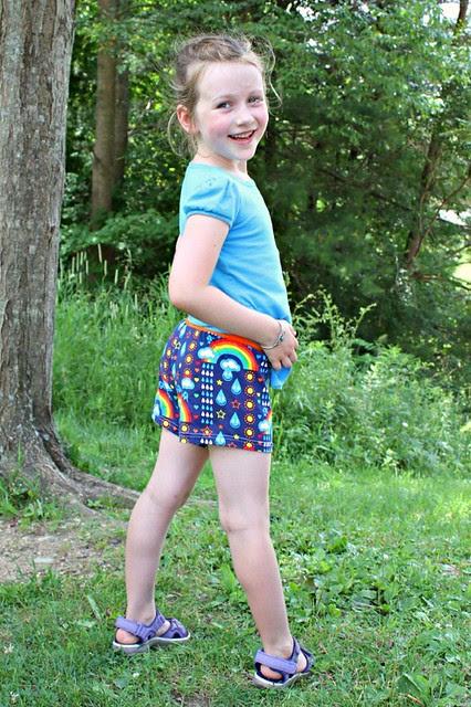 rainbowphant shorts 2
