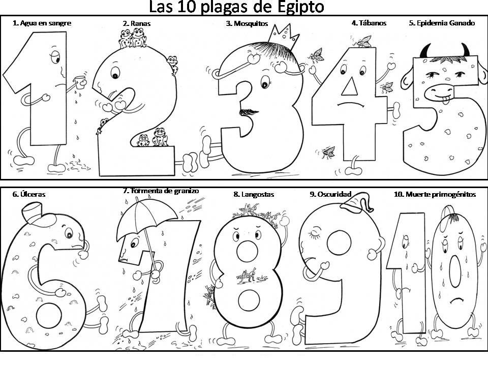 5500 Bible Coloring Pages Plagues Of Egypt Images & Pictures In HD