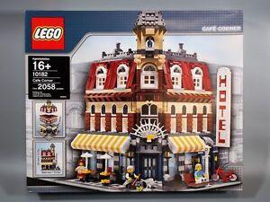LEGO 10182 Creator Cafe Corner [Ship to Worldwide] *BRAND NEW & SEALED*