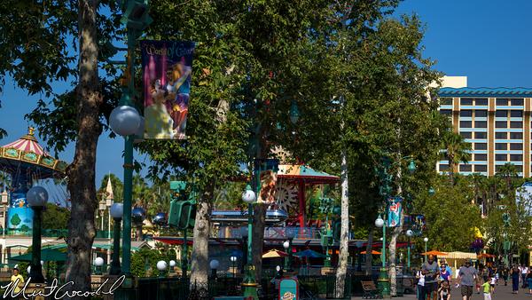 Disneyland Resort, Disney California Adventure, World of Color, Flags, Paradise Pier