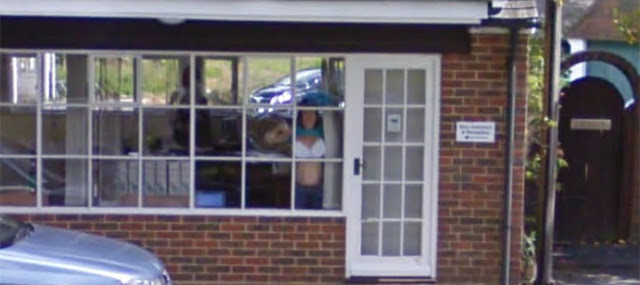 Girl Flashes Bra On Booble Maps Street View Neowin