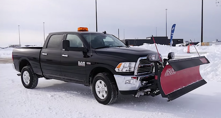 Snow Plowing 101 with the 2015 Ram HD 2500 [Video] - Truck News, Views
