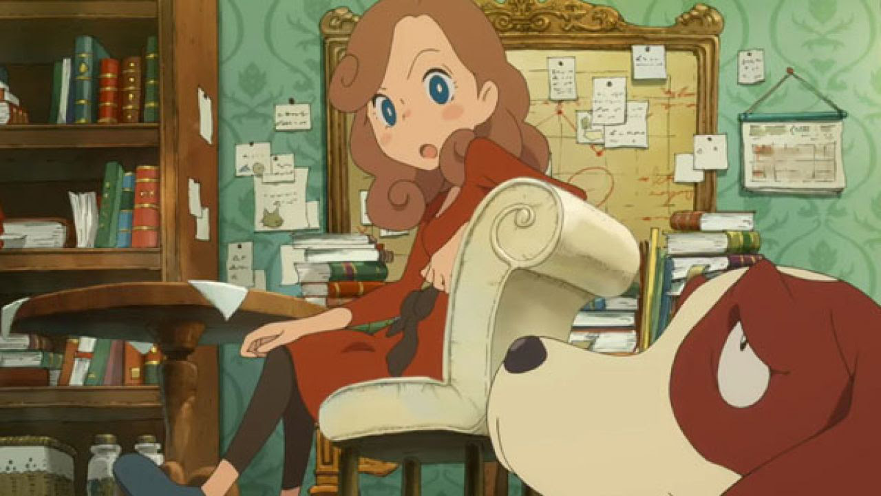 Layton's Mystery Journey will set you back $16 when it launches on mobile this month screenshot