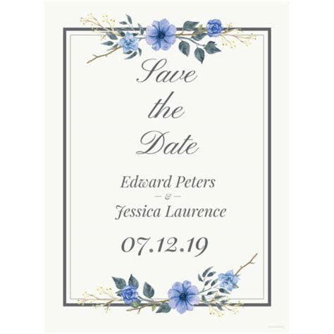 22  Free Wedding Invitation Templates   Traditional