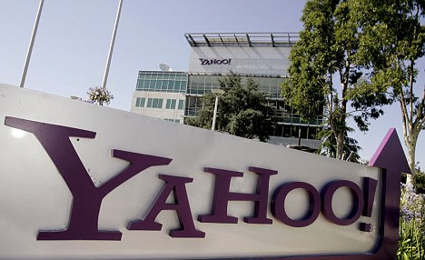 Hacked? A hacker group has posted online the details of 450,000 user accounts and passwords it claims to have stolen from a Yahoo server