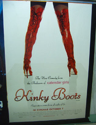 Kinky Boots Ad Bank station