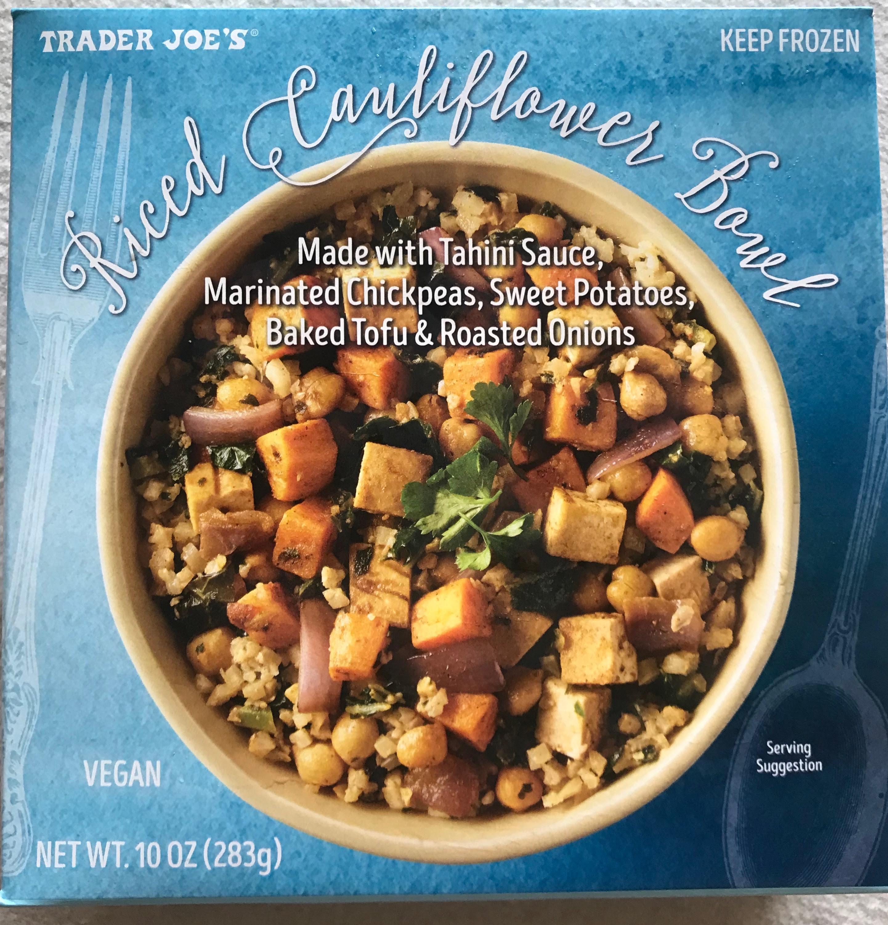 Riced Cauliflower Bowl...The Homemade Vs. The Microwave ...