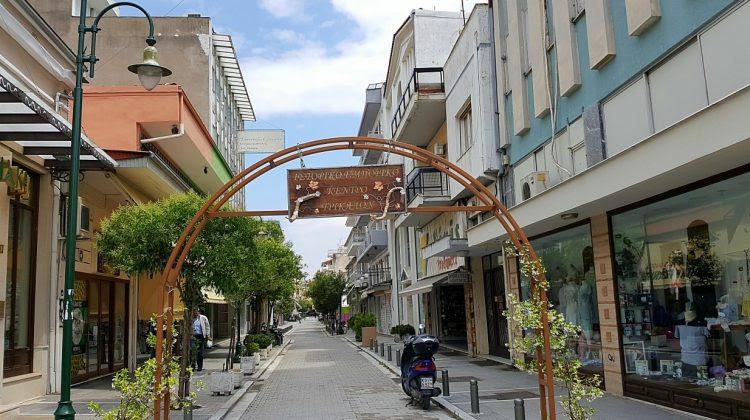 Αλλάζει όψη το ιστορικό εμπορικό κέντρο των Τρικάλων
