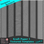 Kraft Paper Templates Set 1 CU4CU