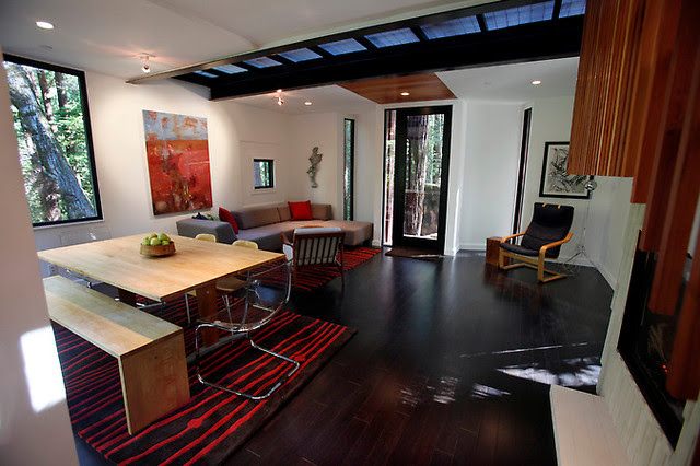 Cargo Container - Modern - Living Room - san francisco ...