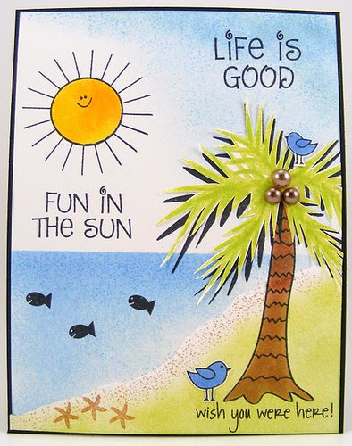 SOL July Life Is Good Card