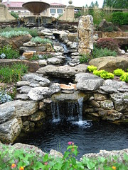 Waterfall at Philbrook