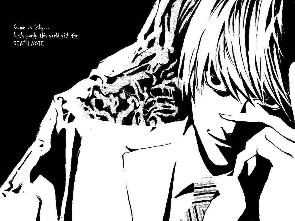 孔明妻の壁紙紹介 Death Note 夜神月