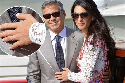 George Clooney and new wife Amal Alamuddin do an