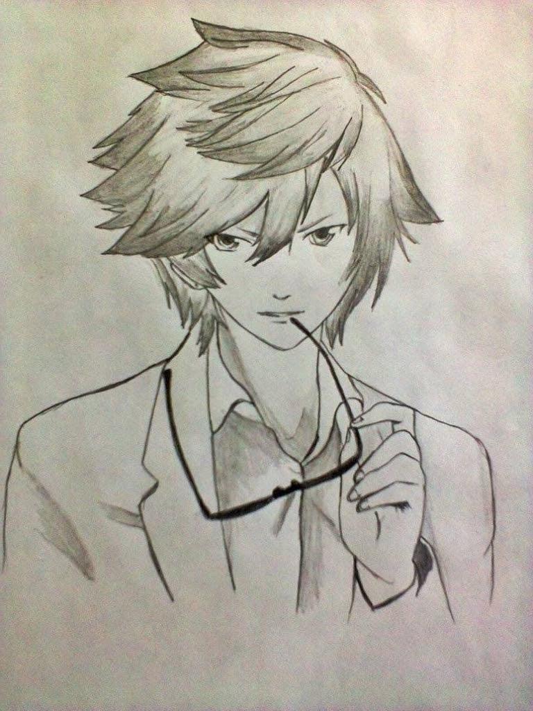 80 Gambar Keren Anime Pensil Gratis