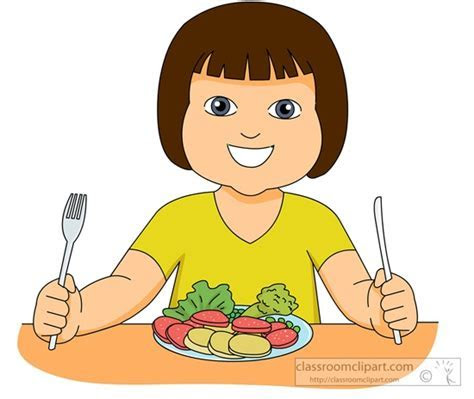 eating healthy food clipart   Clipart Station