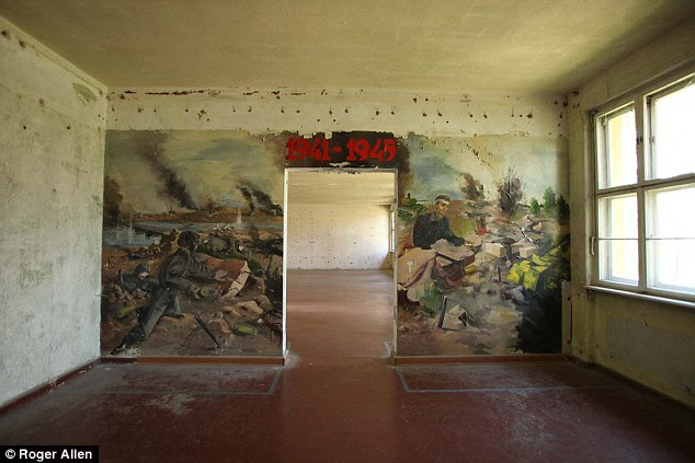 Hopes to refurbish the building, which served in WWII as a hospital for wounded German troops, have so far come to nought