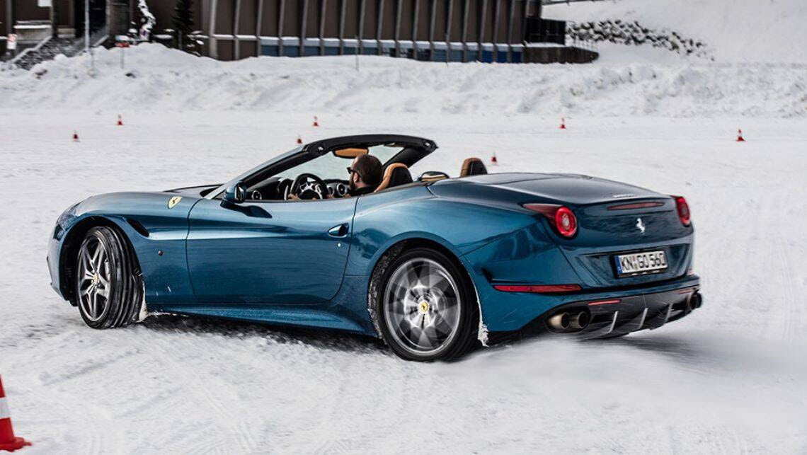 2016 Ferrari California T review | snow and ice test ...