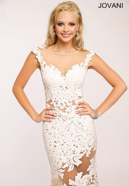 Lace evening dresses jovani