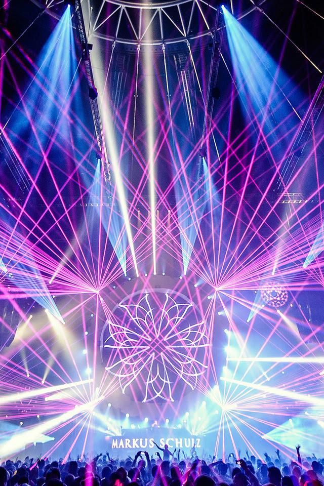 EDM Laser iPhone Wallpaper HD