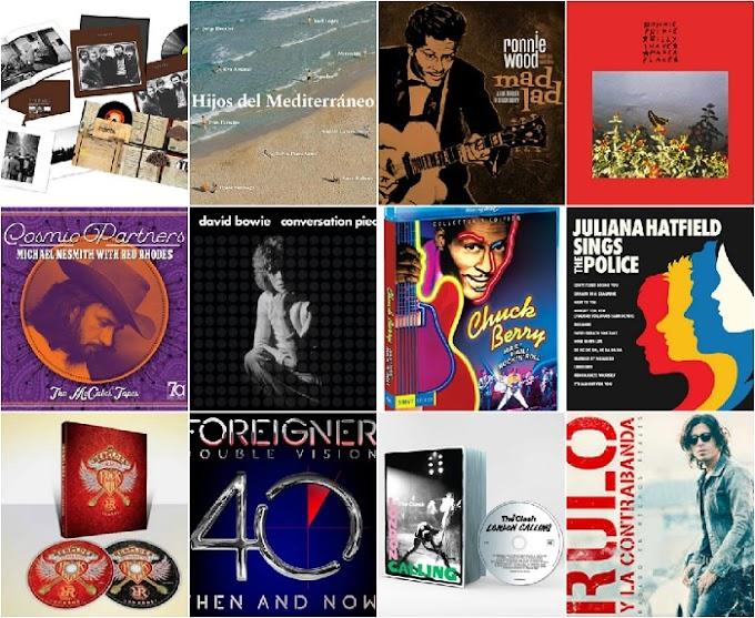 Lanzamientos discográficos: 15 de noviembre