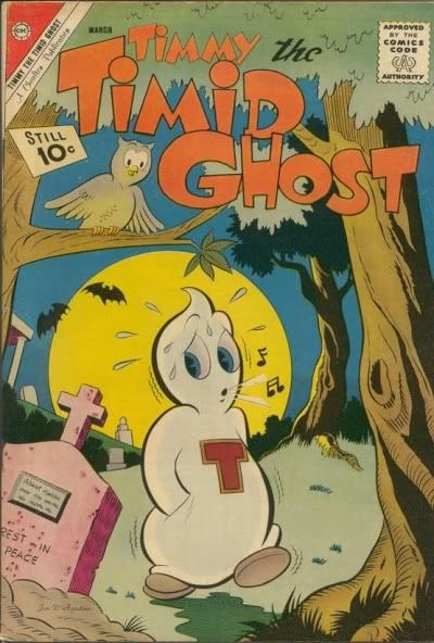 Timmy the Timid Ghost Charlton Comics