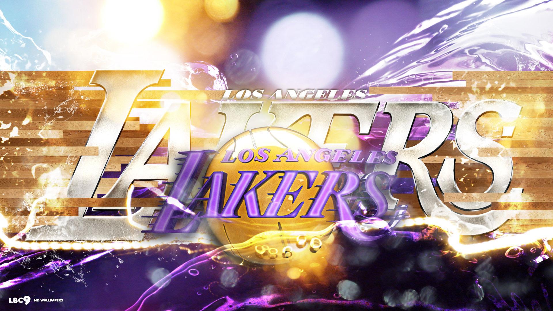 Hoopswallpapers Los Angeles Lakers Iphone Wallpaper Team Pride