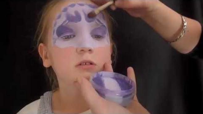 Dinazor Desenli Yüz Boyama Nasıl Yapılır