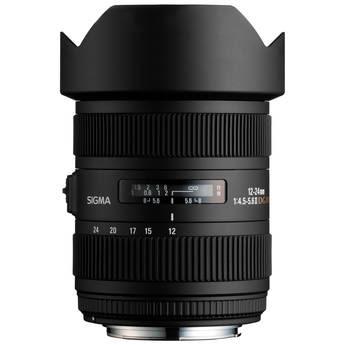 Sigma 12-24mm F4.5-5.6 EX DG ASP HSM Wide Angle Zoom Lens