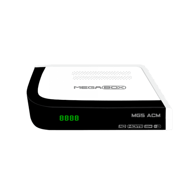 MEGABOX MG5 ACM NOVA ATUALIZAÇÃO V1.50 - 09/04/2018