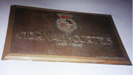 Lápida Hernán Cortés
