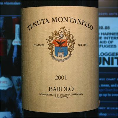 Tenuta Montanello, Barolo 2001