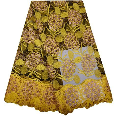 Wholesale French Lace Fashion Nigerian Lace Fabrics For