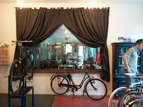 A.Horn, bicycle repair shop in Kreuzberg, Berlin