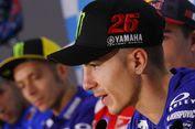 Vinales Start Urutan Terdepan GP Aragon, Rossi di Posisi Ke-3