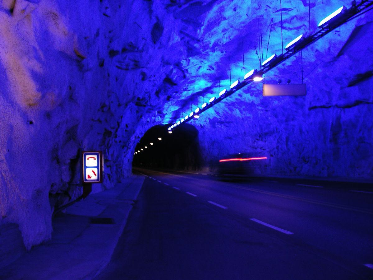 Lærdal Tunnel: o maior túnel rodoviário do mundo 04